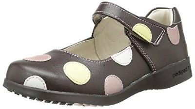 Pediped Giselle Girls Kids Flex Support Footbed Shoes Sandals Leather Mary Janes
