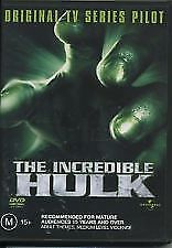 The Incredible Hulk The Original Tv Series Pilot DVD Region 4 (VG Condition)