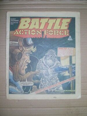 Battle Action Force issue dated January 21 1984