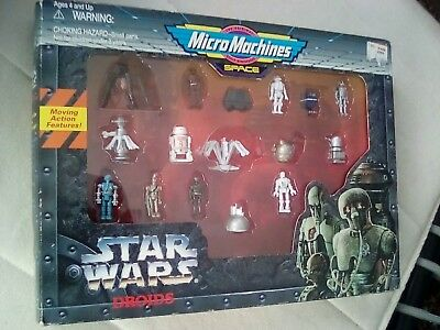 Star Wars Micro Machines Droids Collection Neu OVP