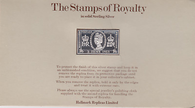 The Stamps of Royalty Silver Proof .925 Stamp Replica : 1s / 6d NO 5