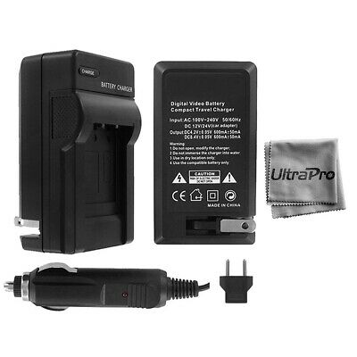 UltraPro Rapid Charger for Canon LP-E6 Battery (110/220v with Car & EU adapters)