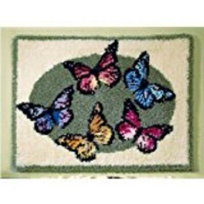 "Latch Hook Kit""Mixed Butterflies"" 52x38cm"