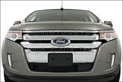 New Oem Front Bumper Grille Black   Ford Edge   Lincoln Mkx