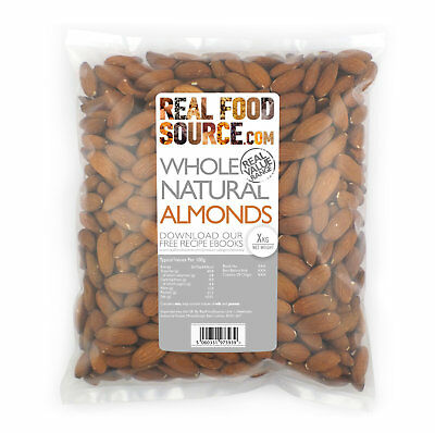 RealFoodSource - Whole Almonds 1kg