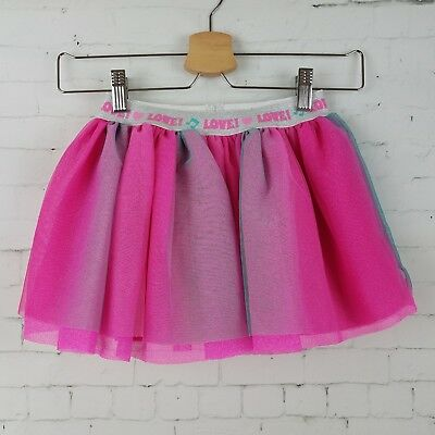 Beat Bugs Girls Skirt Size 4T Pink Blue Tulle Party Tutu Sparkle Lined NEW