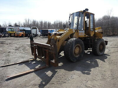 FiatAllis FR10B Wheel Loader RUNS NICE W/ FORKS !!! FR10 Fiat Allis