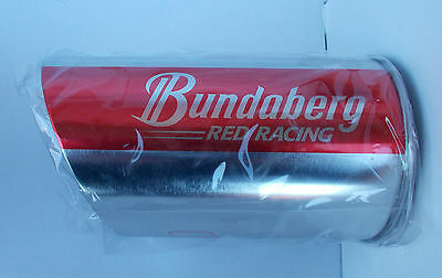 Bundaberg Rum Red Racing  ,  Exhaust Bundy Rum Red Stubby Holder , New