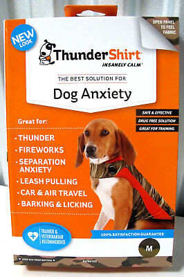 ThunderShirt CAMM-T01 Classic Dog Anxiety Jacket Medium - Camo Polo