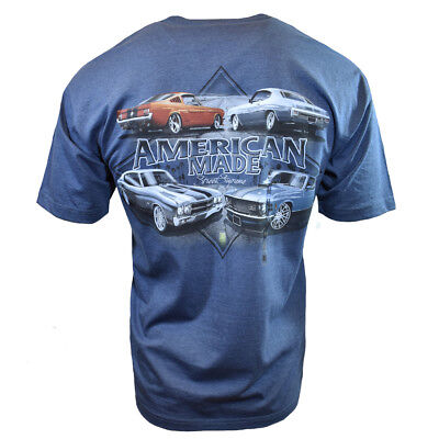 FORD MUSTANG Mens Tee T Shirt American Muscle Car Shelby Vintage Racing Logo NEW