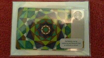 HOT! STARBUCKS INDONESIA 2018 Ramadan Gift Card w/Sleeve SEALED! US Seller