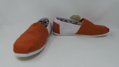 e397b80c955 New Womens Toms Campus Classics University of Texas Austin Slip On Shoes