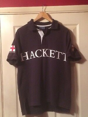 "048753534 HACKETT ST GEORGE POLO SHIRT SIZE MEDIUM.42"" 105cm CHEST"