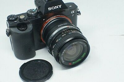 Sony E Mount Adapted 24Mm F2 Vivitar Prime Lens All A7 Nex,A6000