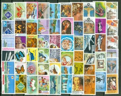 Grenada Group of 135 Almost Diff MH Stamp Lot#5159     gtc