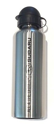 Genuine Subaru 750Ml Stainless Steel Drink Bottle Brand New
