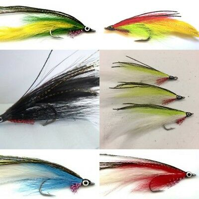 6 Salt Water Lefty Kreh colection Deceiver flies