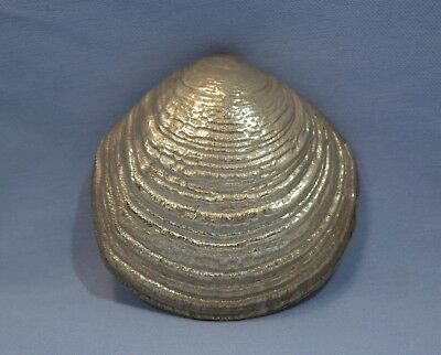 Buccellati Italian Sterling Silver Pearl Oyster Shell Sculpture