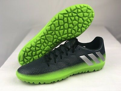 2b2f0a401 ADIDAS MEN'S MESSI 16.3 TF Turf Soccer Shoe Green/Gray AQ3524 - $45.00 |  PicClick