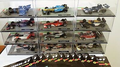 Panini Formula 1 The Car Collection Issues #1 to #12 - 12 x 1:43 F1 models