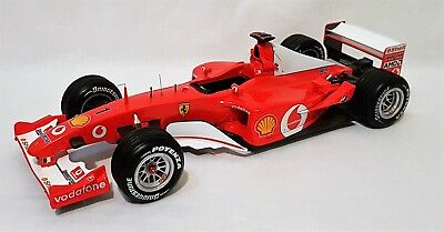 Hotwheels Elite N2076 - Ferrari F2002 Michael Schumacher 2002 French GP