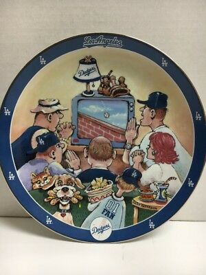 DODGERS PRAYER by Gary Patterson A Limited Edition Plate Collection