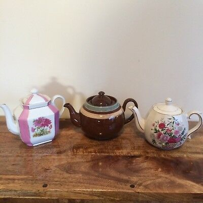 Vintage Made In England Teapots