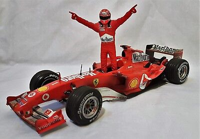 Hotwheels Ferrari F2004 Michael Schumacher 2004 Japan GP (7 Times World Champ)