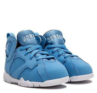 f14611c3cf43f6 JORDAN 7 RETRO BT University Blue White Toddler Shoes 10 -  49.95 ...