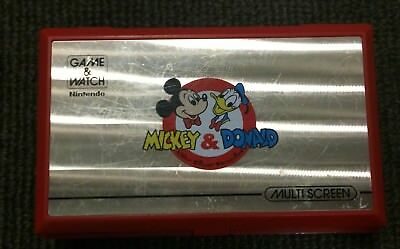MICKEY & DONALD MULTI SCREEN Game & Watch - DM-53 Nintendo Game and Watch