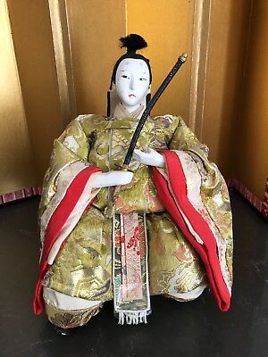 Antique /vintage Japanese Hina Doll-All Original