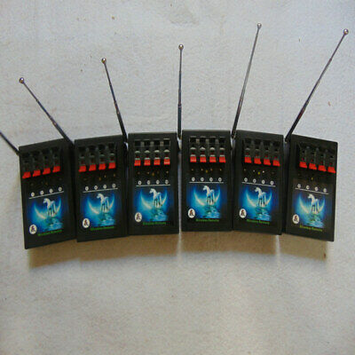 24 Cues Transmitter fireworks firing system 6PCS 4Cues wireless remote receiver