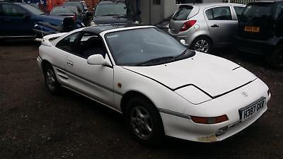 1991 Toyota MR2 GT STARTS+DRIVES F/S/H SPARES OR REPAIRS