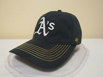 MLB Oakland Athletics OSFA Closer Fitted Flex Hat by '47 Brand