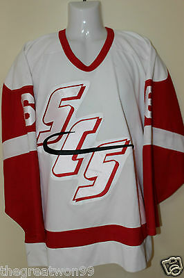 NHL/SCSHA St.Clair Shores Saints #6 SML Flo-Knit Ice Hockey Jersey by SP