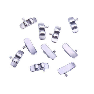 10Pcs/Bag AZDENT Dental Orthodontic Lingual Sheath with Right Hook SALE