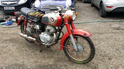 1974 Honda CD175 BARN FIND SPARES OR REPAIRS