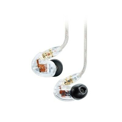 Shure SE425 Dual Drivers IEM Earphones - Clear - Refurbished