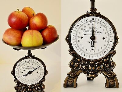 Old style, Antique, Shabby Chic, Vintage Renovated German Kitchen Scale KNEIST'S