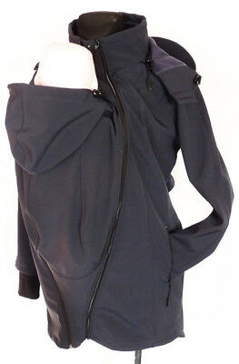 Xxl 4 In 1 Babywearing Jacket For Back Front Maternity Soft Shell All Seasons