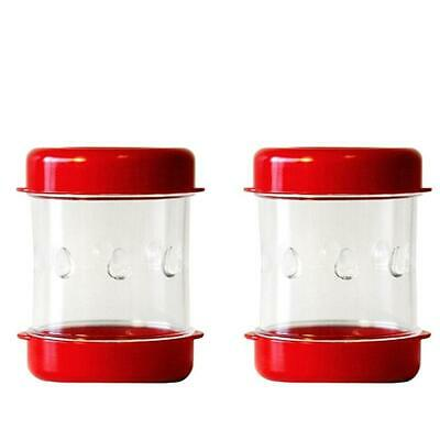 The NEGG 2-pack BPA-Free Hard-Boiled Egg Peeler with Recipes