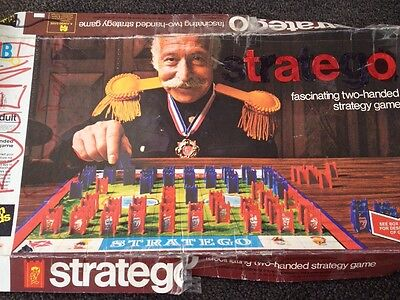 STRATEGO board game 1975 by Milton Bradley Vintage Manufactured In Australia