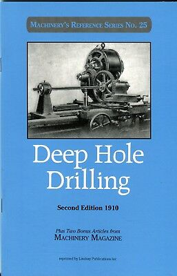 Deep Hole Drilling Second Ed. 1910 (Machinery's Reference Series 25)