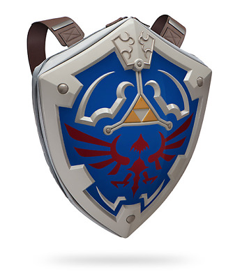 Legends Of Zelda: Hylian Shield Backpack Official Nintendo merchandise New