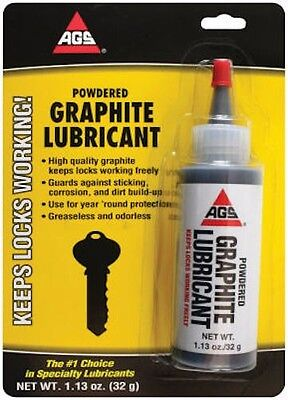 A G S Company MZ-5 Powdered Graphite Lubricant-1.13OZ POWDER GRAPHITE