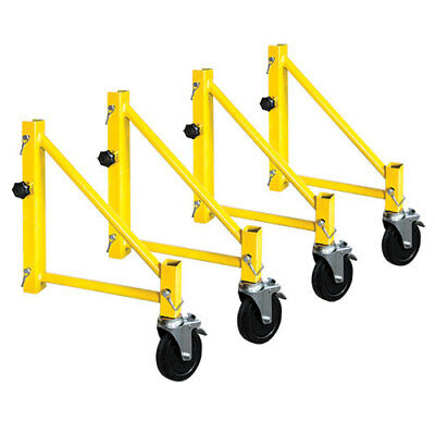 "Metaltech Jobsite Series 14"" Outriggers w/Casters, I-CISO4PY, Perry Compatible"