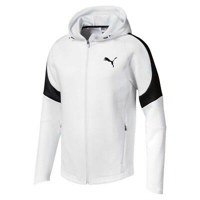 NEW Puma Men's Evostripe Move Hoodie X Large, White from Rebel Sport