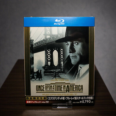 Once upon a time in america Steelbook Japan Bluray NEU Sealed