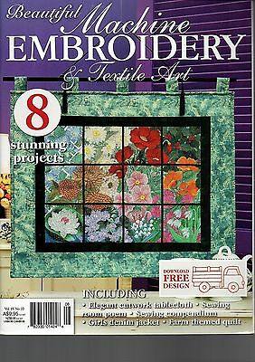 Beautiful Machine Embroidery & Textile Art Vol 19 No 10