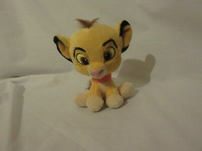 "6"" cute soft simba cub from the lion king posh paws for disney plush doll"